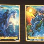 死神と悪魔のカードの読み方の違いとは