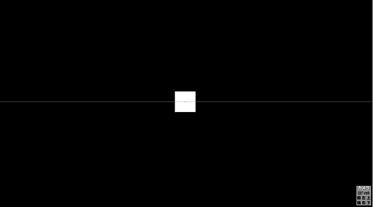 タイムライン上で右クリック⇒メディアオブジェクトの追加⇒図形で設置可能 立体図形にしたい場合は、アニメーション効果⇒立方体(カメラ制御)。